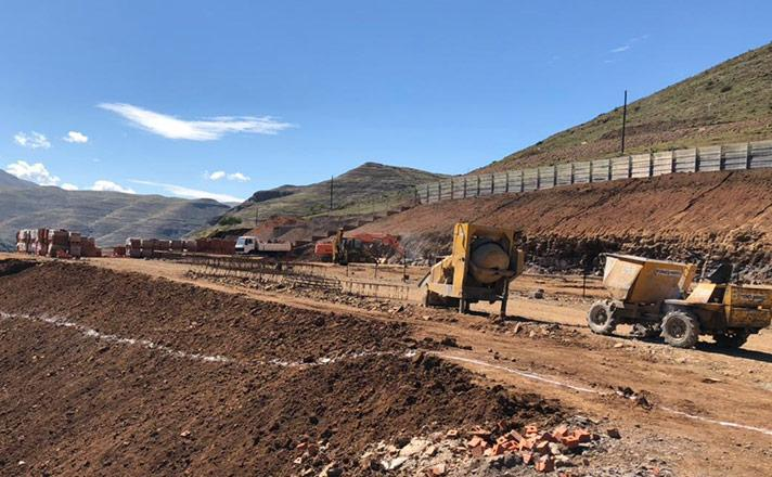 Medigrow Lesotho Pty Ltd  earthworks and excavation
