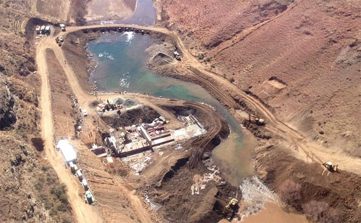 Lesotho Highlands Development Authority Polihali Gauging Weir Slide One