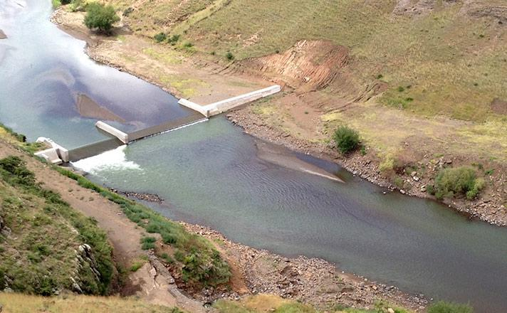 Lesotho Highlands Development Authority Polihali Gauging Weir Slide Three