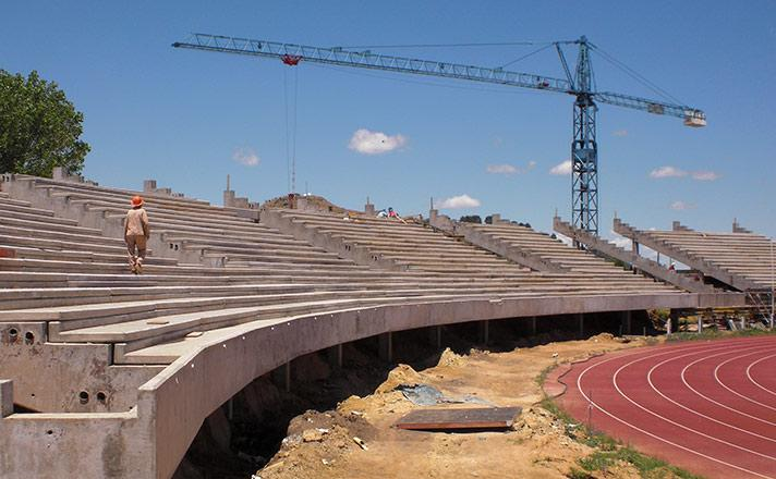 Setsoto National Stadium upgrade slied image two