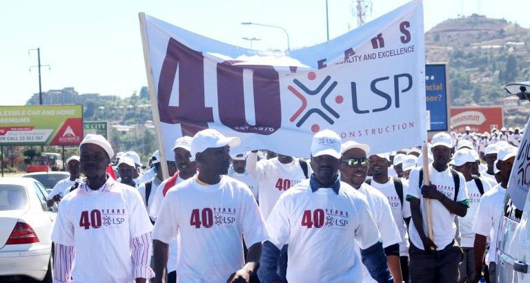 LSP Construction 40 year celebration